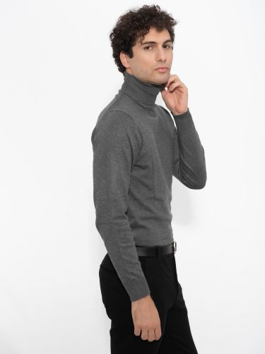 OVER-D KNITTED BLAZER OM206MG GREY