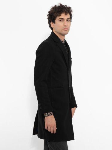 OVER-D παλτό OM215CP μαύρο