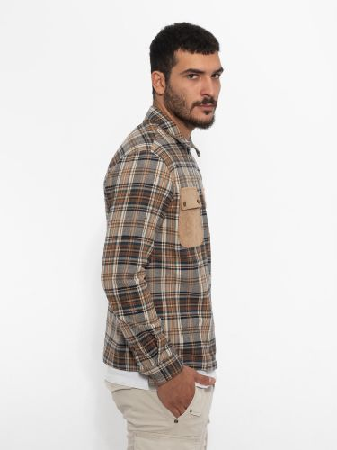 IMPERIAL MAN shirt CZZ3AAL brown