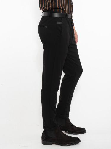 OVER-D παντελόνι chino OM233PN μαύρο