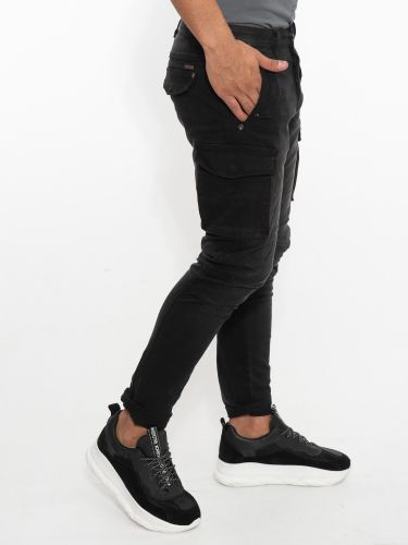 GIANNI LUPO cargo pants GL2363J-CLF20 black