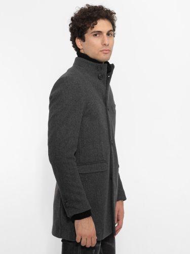 OVER-D coat OM201CP grey