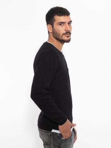 GIANNI LUPO μπλούζα BW770 μαύρη