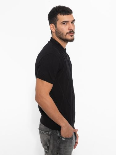 XAGON MAN t-shirt J01255 μαύρο
