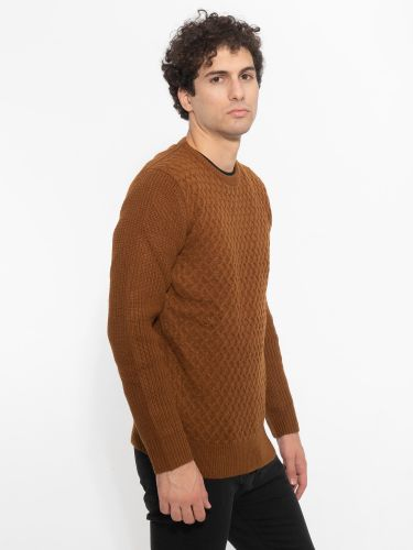 OVER-D blouse OM109MG brown