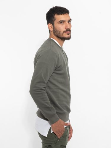 OVER-D sweatshirt OM289FL khaki