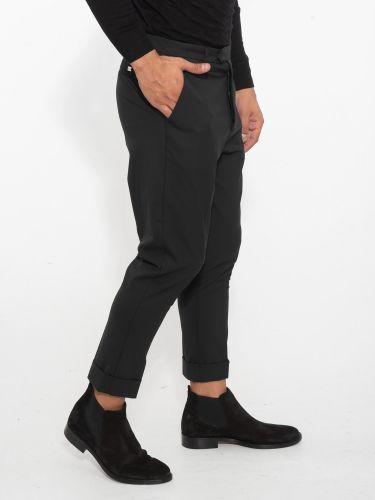I AM BRIAN παντελόνι chino PA1496 μαύρο