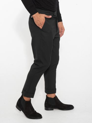 I AM BRIAN chino pants PA1496 black