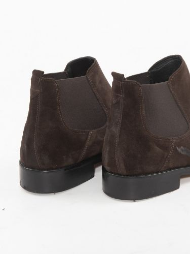 OVER-D boot chelsea OM293SC brown