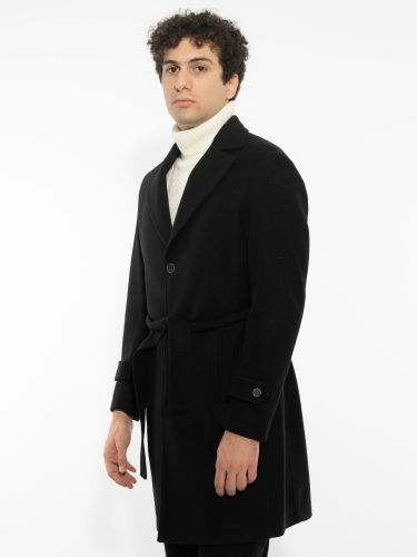 OVER-D coat OM392CP black