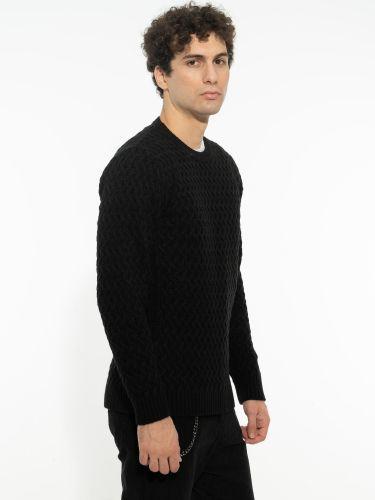 OVER-D blouse OM518MG black