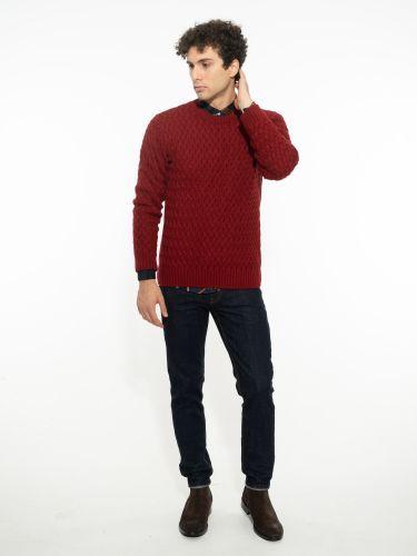 OVER-D blouse OM518MG burgundy