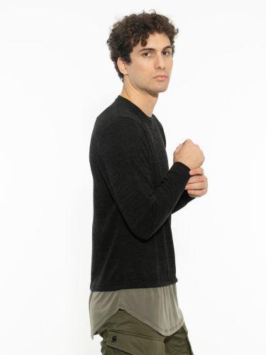 TAG μπλούζα TMFW21227 μαύρη