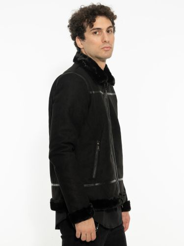 OVER-D jacket OM220GB black