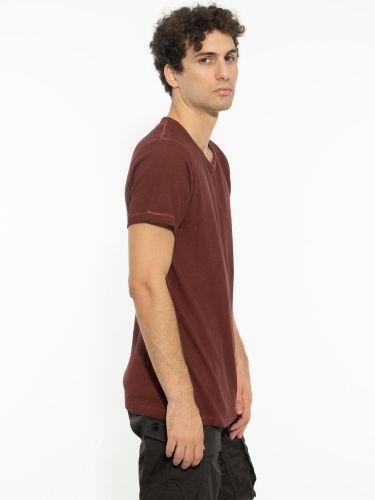 TIGHA t-shirt 105160 LAFAN μπορντό