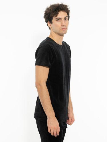 TIGHA t-shirt 105687 HEIN VELVET μαύρο