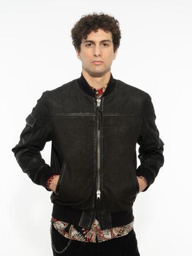 TIGHA leather jac...