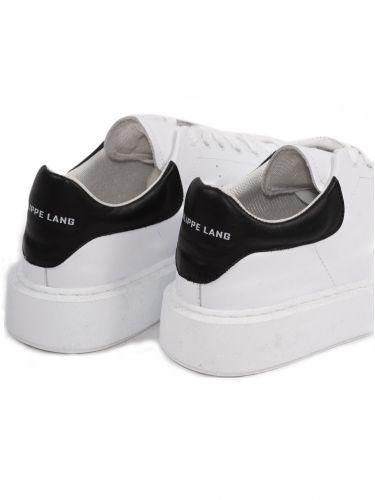 PHILIPPE LANG sneakers NAPPA λευκό