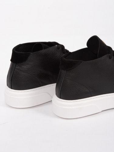 PHILIPPE LANG leather boots 0700320AV black