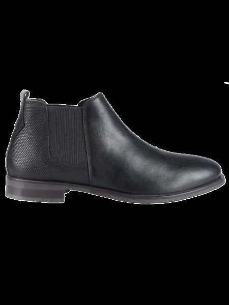 HARRY BENETT leather boots chelsea 60115 black