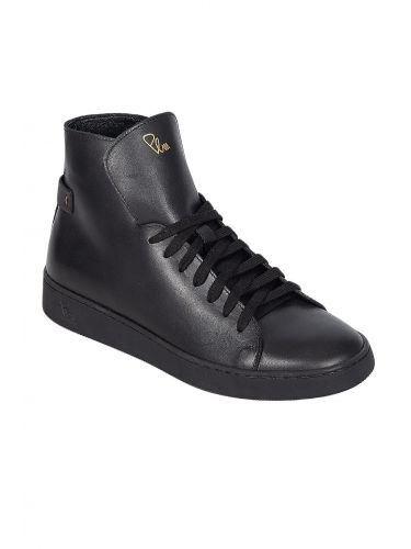 PER LA MODA leather boots 1912R black