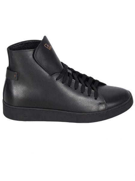PER LA MODA leather boots 1912R black