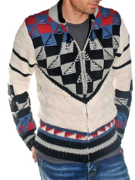 Tailor Made knitted cardigan TM50M multicoloured