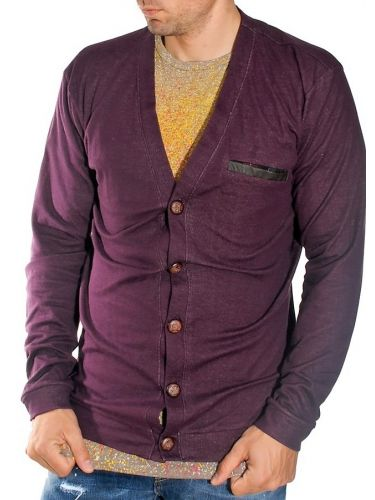 19 Athens knitted cardigan 1910 purple