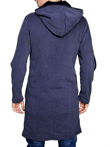 THE PROJECT ζακέτα-φούτερ H8KN151WO μπλε μαρίν