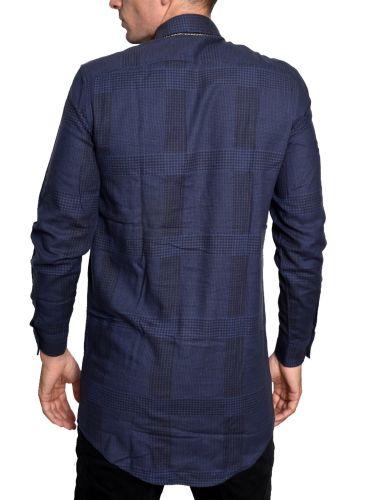 CHEAP MONDAY shirt 0336492-N52 navy blue-black