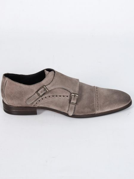 YES LONDON shoes GN06-CAMOSCIO grey