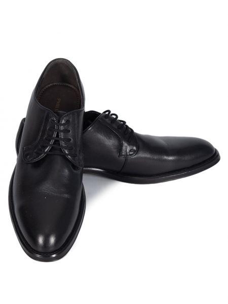 PHILIPPE LANG δερμάτινο παπούτσι MSH001776 μαύρο