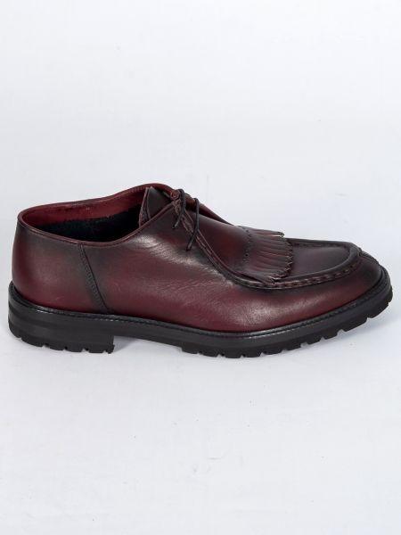 PER LA MODA leather shoes 1907XL bordeaux