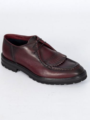 PER LA MODA leather shoes 1907XL bordeaux