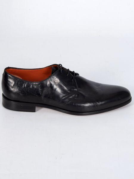 PER LA MODA δερμάτινο παπούτσι 210M/VIT/U18 μαύρο