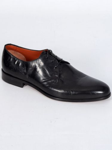 PER LA MODA leather shoes 210M/VIT/U18 black