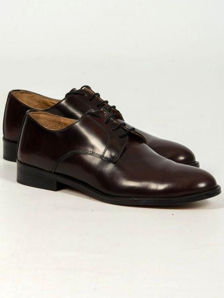 FRANCESCO BONACCIO leather shoes 600 bordeaux