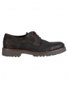 RIVIERA MILANO leather shoes GN01-ISC-OLEATA-2160 black-grey