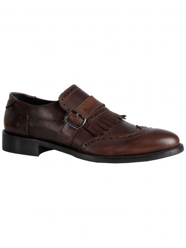 YES LONDON shoes with buckles CARLITOS2-VITTELO brown