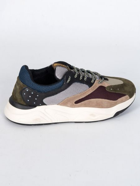 BRIMARTS sneakers 418798 SQ05 χακί-μπορντό