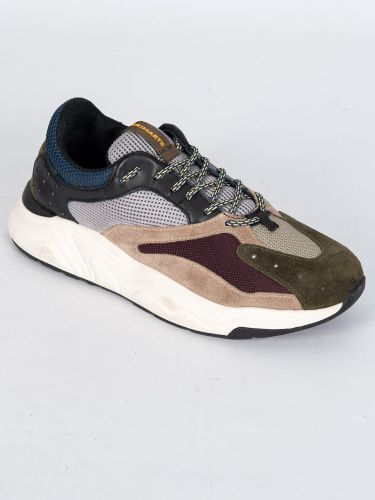 BRIMARTS sneakers 418798 SQ05 khaki-bordeaux
