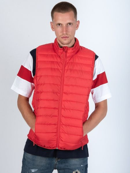 GUYA sleeveless jacket GU04 red