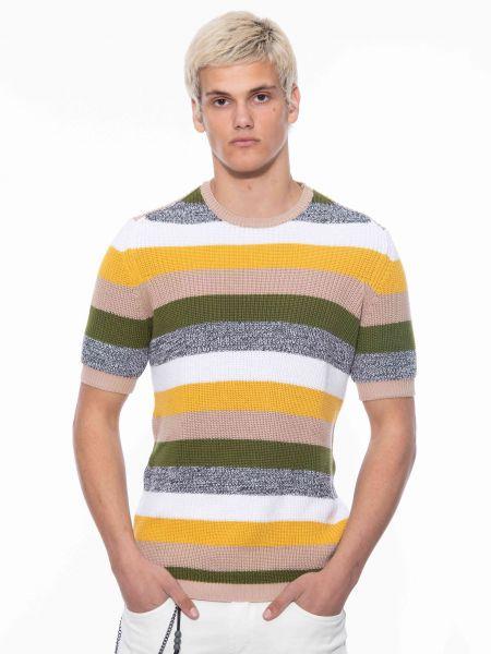 BESILENT MAN t-shirt BSMA0393 multicolor