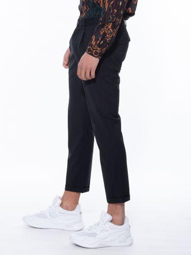 XAGON MAN chino pants PTELAF black