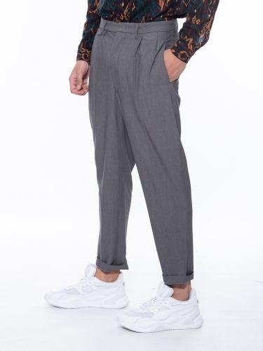 XAGON MAN παντελόνι chino PISAPE γκρι
