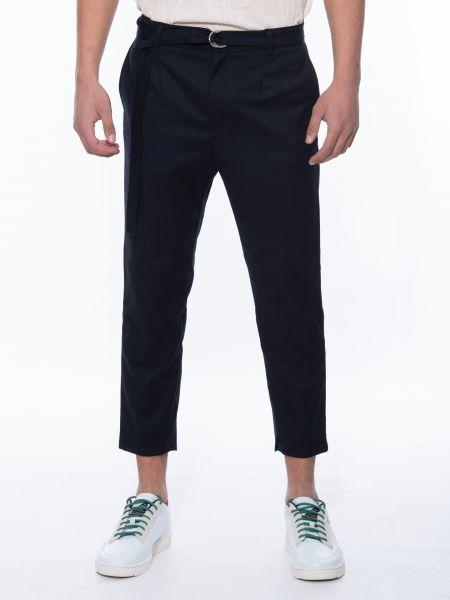 BESILENT MAN chino trouser BSPA0350 blue marin