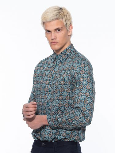 IMPERIAL MAN shirt CYL3AFD multicolor