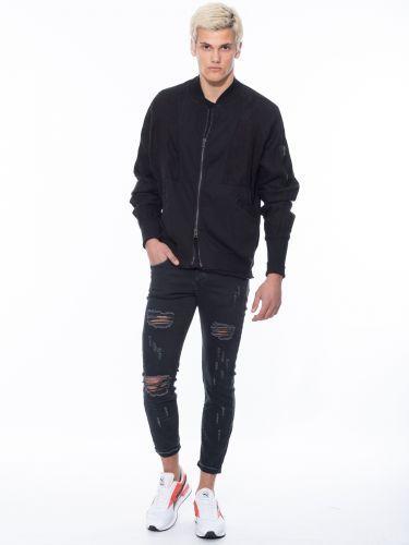 LA HAINE jacket 3B RELOA μαύρο