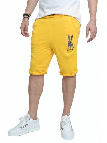 Reign φόρμα-βερμούδα Mappet Dog κίτρινο