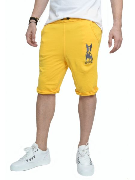 Reign shorts Mappet Dog yellow